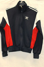 Adidas VINTAGE 1970s/80s Zip Up Jacket Excellent Used Condition Size Small 0790