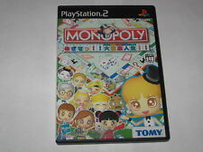 Monopoly Mezase Daifugou Jinsei Playstation 2 PS2 Japan import US Seller