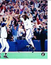 Joe Carter 8 X 10 Foto Autógrafo De Béisbol Mlb Jays de Toronto Blue Jays Home Run