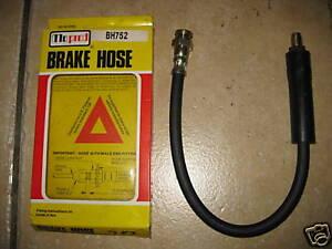 NEW FRONT FLEXABLE BRAKE HOSE - FITS: PEUGEOT 504 & 505 & 604 (1975-ON)