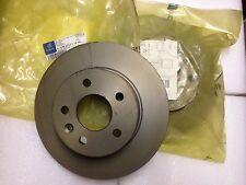 mercedes vito/v class front vented discs - brand new pair - merc no. A6384210112
