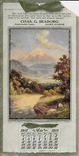R. Atkinson Fox Signed, Popocatapel-Mexico, Joilet, Illinois ,Calendar May 1913