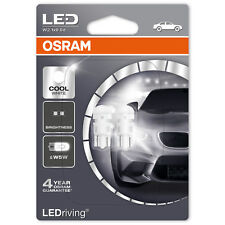 OSRAM Standard LEDriving Retrofit 6000K W5W Cool White Bulbs (Twin)