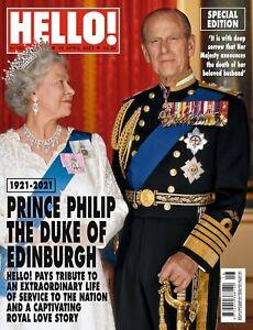 PRINCE PHILIP TRIBUTE ISSUE: UK Hello! Magazine 19th April 2021