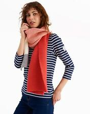 Joules Annis Knitted Scarf in Red Sky in One Size