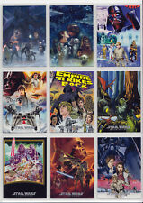 Star Wars ESB Illustrated One Sheet Reimagined 10 Card Chase Set Posters MP1-10