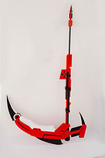 Hot New RWBY Ruby Rose Crescent Sniper Scythe Detachable Cosplay Prop Weapon