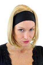 Coole Damen-Perücke 3/4-Perücke Stirnband Blond Glatt Mittellang Wig GFW948H-86