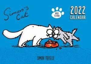 2022 A4 Planner - Simons Cat WTV