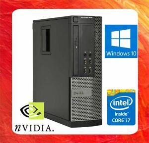 DELL PC OPTIPLEX 9010 INTEL CORE I7 3.4GHZ 16GB 500GBHDD DVDRW NVIDIA HDMI WIN10