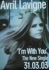 AVRIL LAVIGNE POSTER I'M WITH YOU