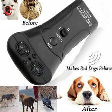 Ultrasonic Anti Dog Barking Trainer LED Light Gentle Chaser Petgentle Sonics USA