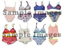 Assorted Pack Kid's Underwear Girls Mixed Sizes Styles Bra & Panty Set 30 Bundle
