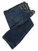 Lee Cooper Mens Harry Straight Leg Blue Jeans Size 34 L33