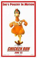 Huhn Run Original Filmposter - Zweiseitig