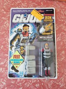 Gi Joe 1990 Metalhead complete