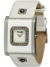 Misaki Uhren weisse Damenuhr mit Zirkonia Modell QCRWACQUAW UVP 299€