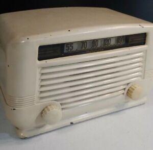 antique motorola radio model 55-12-a Bakelite tube orig paint