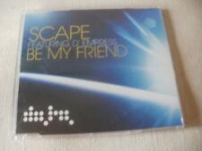 SCAPE / D'EMPRESS - BE MY FRIEND - 6 MIX HOUSE CD SINGLE