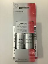 Mercedes-Benz Lackstift SET Iridiumsilber Metallic 2x12ml - 9775