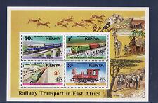 Kenya    bloc  transport feroviaires  train   1976