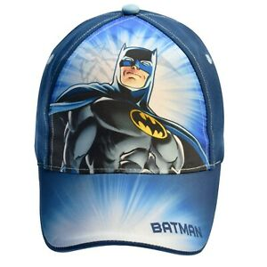 Batman Cap Size Age 3-5 6-8 Years Officially Licensed Boys Kids Summer Sun Hat