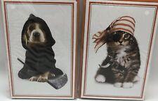 American Greetings Halloween Cards Cat Pirate Dog Grim Reaper New