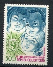 Chad 1971 Sg # 348 Unicef Mnh #a 31963