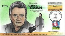 """BEVIL HP  FAREWELL TO JOHNNY CASH  """"THE MAN IN BLACK"""" DOD Sc 1506 2919"""