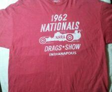 NHRA T-shirt, Men's 2XL, Red