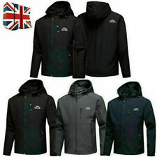 The North Face Mens Full Outdoor Jacket Zip Coat Casual Spring Autumn Soft Shell