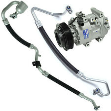 Fits Kia Rondo 2.4L 2007 to 2009 NEW AC Compressor with Hoses CO 11223KTC