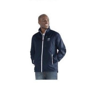 Los Angeles Rams NFL Movement Full Zip Packable Jacket by Glll Mens Large L NEW