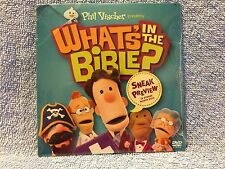 PHIL VISCHER PRESENTS ****WHAT'S IN THE BIBLE?****  DVD