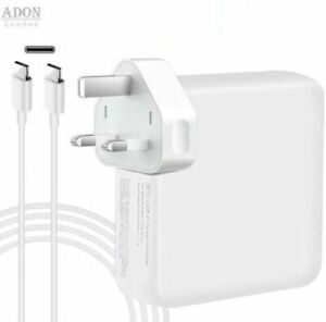 For Apple 30W, 61W,87W AC Adapter Power Charger & Usb-C Cable Macbook Pro / Air