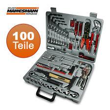 BRÜDER MANNESMANN® 100-tlg Werkzeugkoffer Ratschenkasten Toolbox Knarrenset Bits