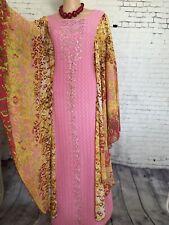 Women Plus Size Kaftan Boho Maxi Dress Night Gown Women's Sleeve Vintage Caftan