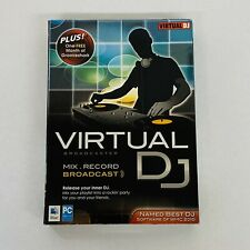NEW Virtual DJ Broadcaster Mix Record DJ Software for Mac & Windows