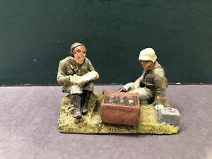 Elastolin: German Radio Men. Pre War c1940