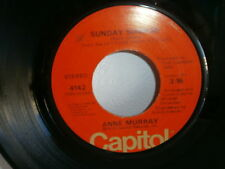 ANNE MURRAY Sunday sunrise / out on the road again CAPITOL 4142