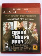New! Grand Theft Auto Gta 4 Complete Edition Ps3 Greatest Hits Factory Y-Sealed!