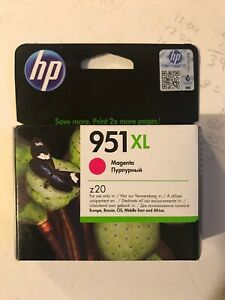 Genuine Original HP 951XL Magenta CN047AE Printer Ink Cartridge VAT.Inc - No Box