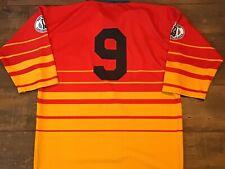 2000 Dewsbury Match no 9 Rugby League Shirt v Villeneuve Jersey