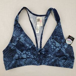 NWT PINK Victoria's Secret Sports Bra Unlined Size Large REMOVEABLE PADDING
