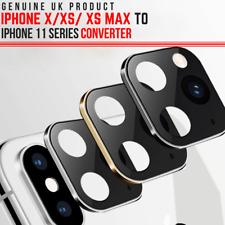 Etiqueta engomada de la lente para iPhone XR Cámara Cubierta Protector de 11 segundos cambiar a iPhone Reino Unido