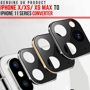 GENUINE Camera Lens Sticker CONVERT iPhone X, XS MAX to iPhone 11 in Seconds