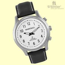 Sprechende Uhr Damen Funk Armbanduhr Solar-Hybrid Sprachausgabe Blindenuhr