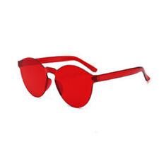 Girl Women Men Clear Retro Sunglasses Outdoor Frameless Eyewear Fashion Glasses