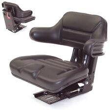 0E110 Traktorsitz gefedert Schleppersitz Feder Sitz Treckersitz Armlehne Lehne