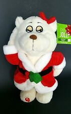 Be Jolly Christmas Animated Teddy Bear Dance Sings Sexy and I know It Santa Suit